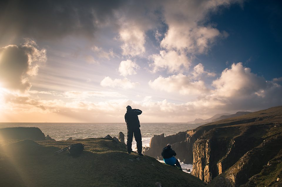 Photographers on Achill island
