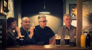 Men in irish pub