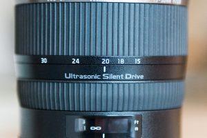 focal length scale