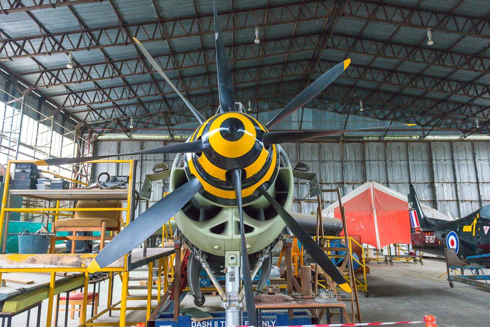 Royal Navy Fairey Gannet ECM.6 XA460