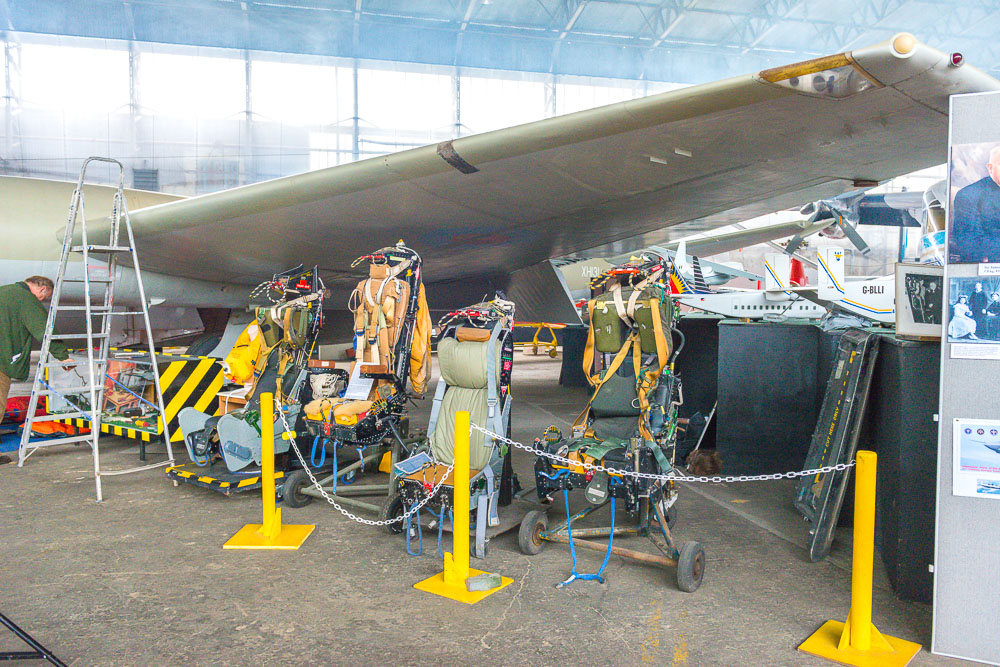 Martin-Baker ejection seats at the Ulster Aviation Society