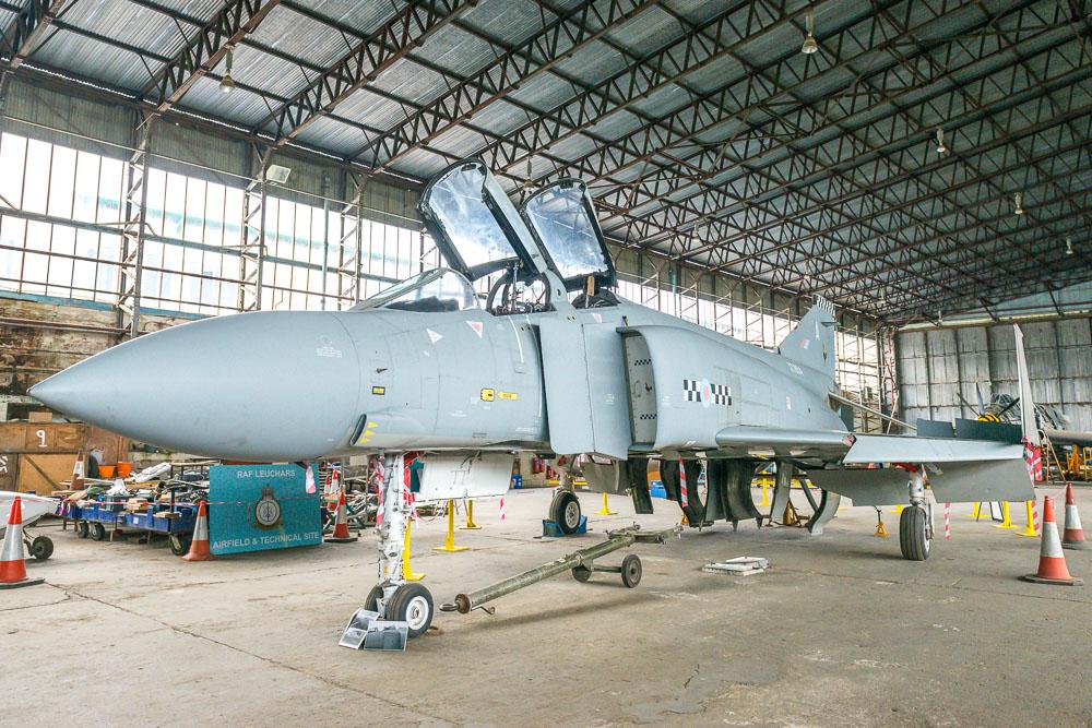 Phantom F-4 XT864 jet fighter
