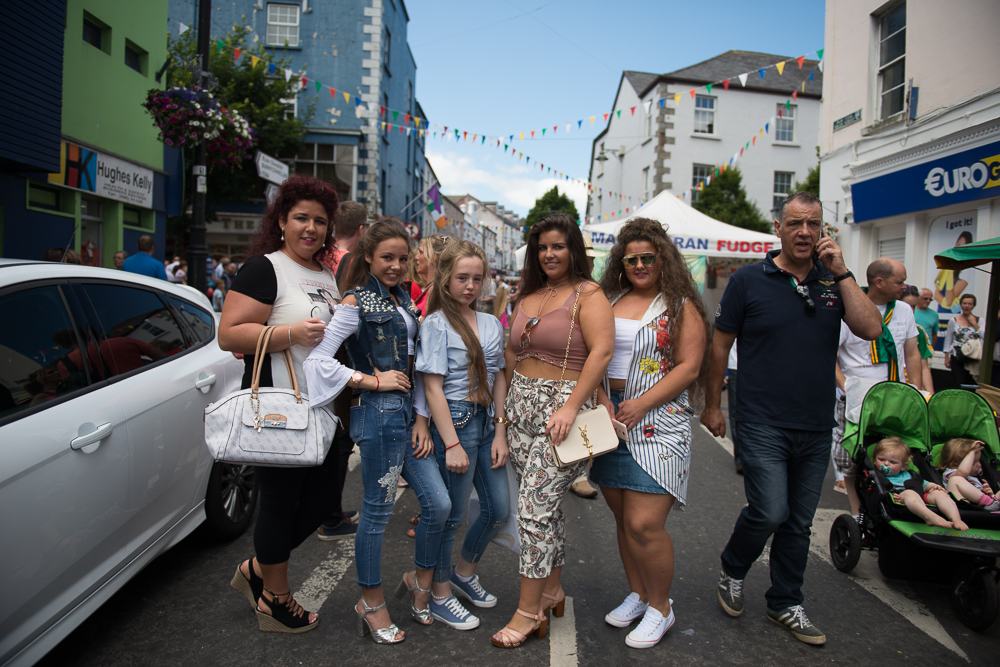 Traveller girls at the Ballina Heritage festival 2017