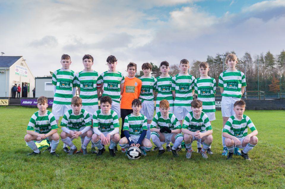 Castlebar Celtic versus Corrib United