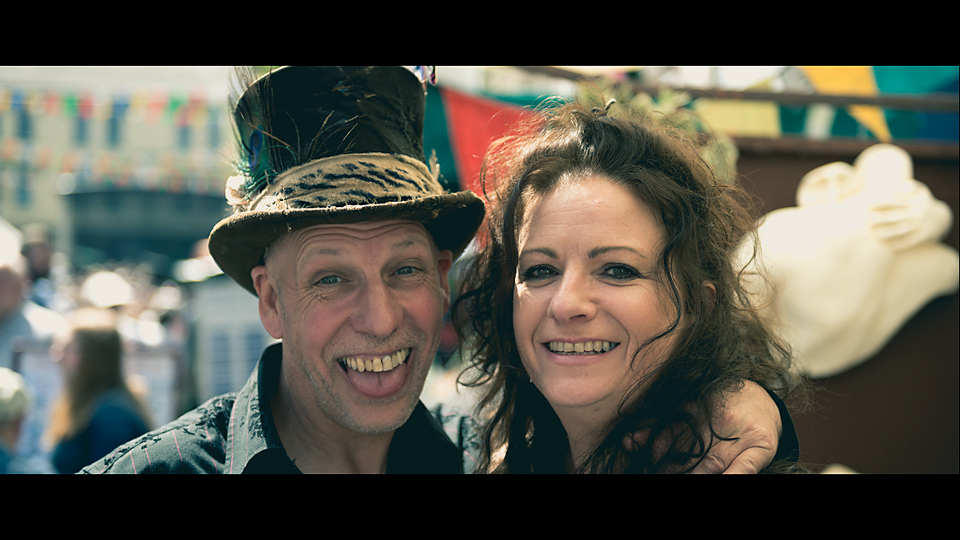 Couple at the 2017 Ballina Street festival by John Mee