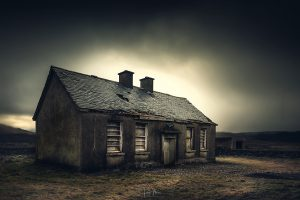 old west of ireland schoolhouse