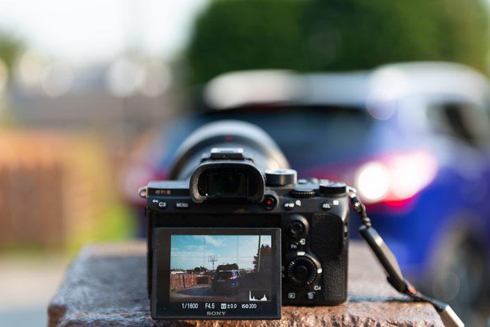 Sony A7R iii monitor brightness