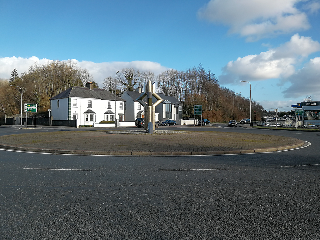 Roundabout in castlebar town