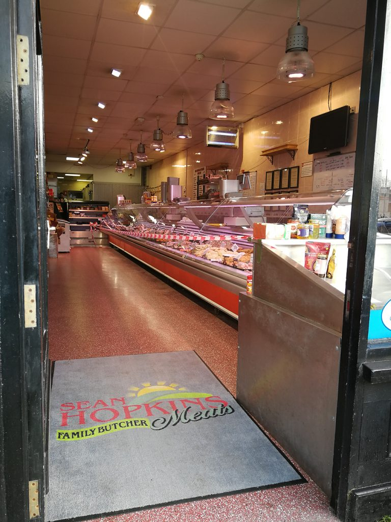 A butchers shop in Castlebar
