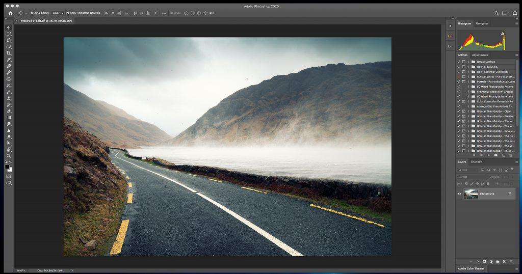 Photoshop main interface